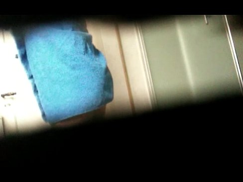 Hidden recording of my sister stripping in the toilet