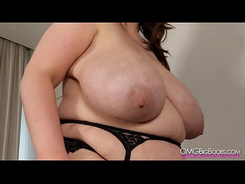 Playing with ex girlfriend's massive tits