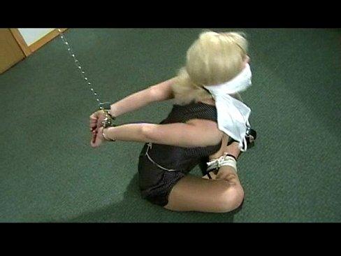bondage Chaining and blindfold