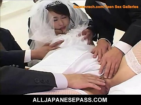 Групповуха с японской невестой
