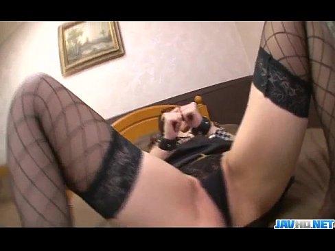 Araki Hitomi big tits beauty needs harsh fucking