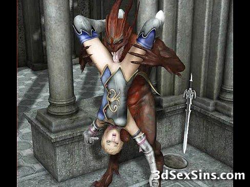 Demons Fucking 3D Babes [変態アニメポルノ 3D Porn HentaiPornTube.net]