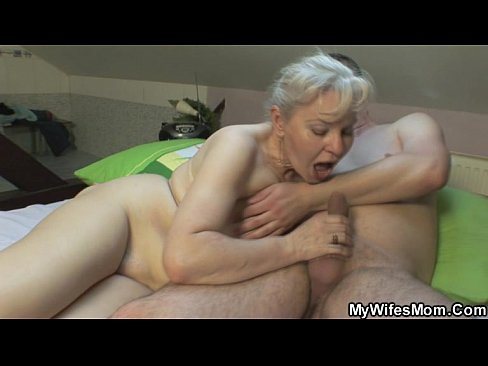 Hot naked mother inlaw