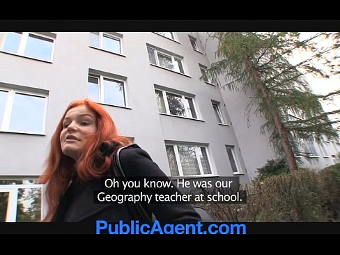 PublicAgent.com Does Anal With Married Redhead Bitch