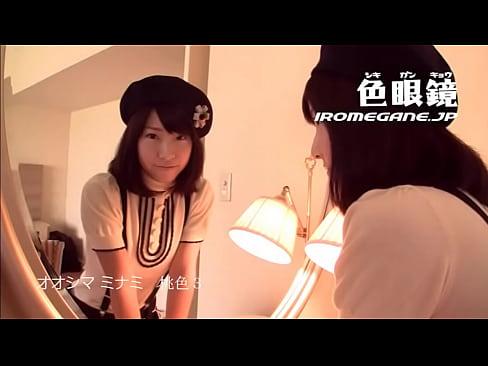 【ハメ撮り動画】人気AV女優の大島みなみちゃんがホテルで巨チンとハード...