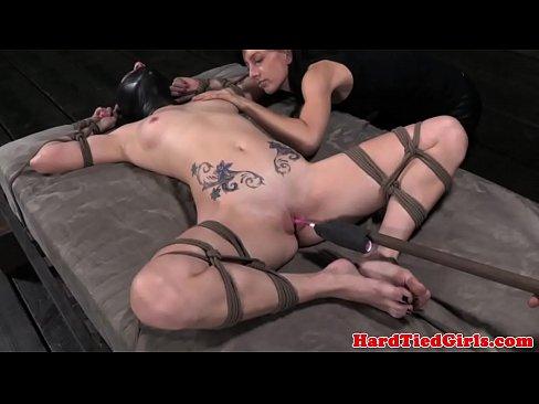 Tied up veruca james enjoys hardcore pleasures 4