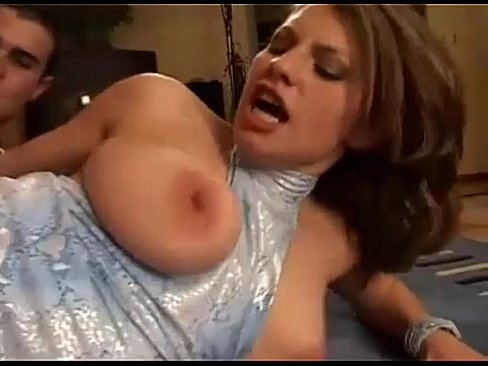 Big titted brunette German lady gets fucked