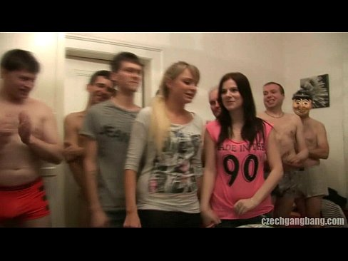 5 Min GIRLFRIEND AND HER SISTER GET FUCKED AT CZECH GANG BANG Youporn Xxx