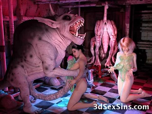 Freak Monsters Bang 3D Girls [変態アニメポルノ 3D Porn HentaiPornTube.net]