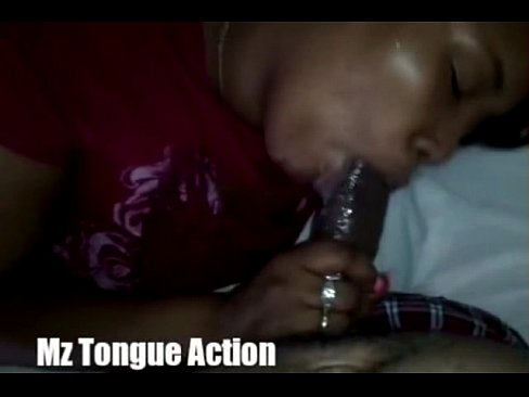 Mz Tongue Action Early Morning Classic Blowjob & Facial!