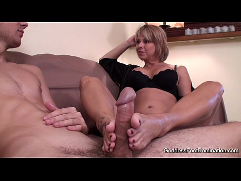 Footjob – Sons Unexpected Visit