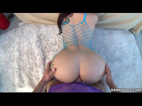 Fat ass anal pov