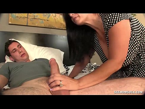 mom enjoys sons big cock