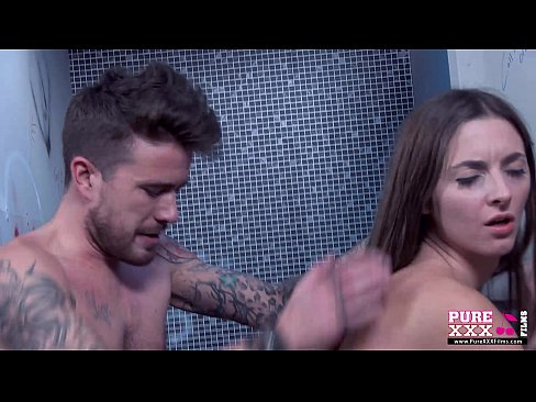 PureXXXFilms Innocent Teen Gets Fucked in the Bathroom