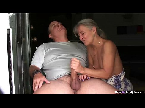 Woman HD Older giving handjob