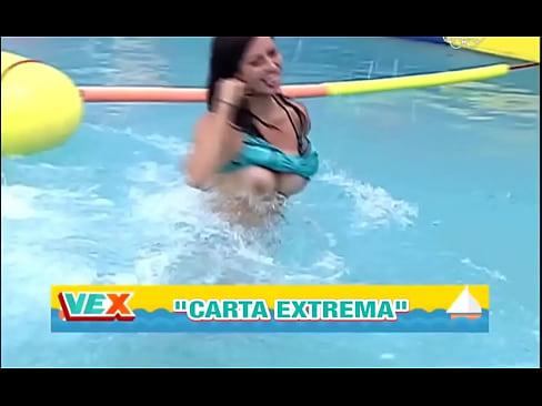 Claudia Ramírez descuido