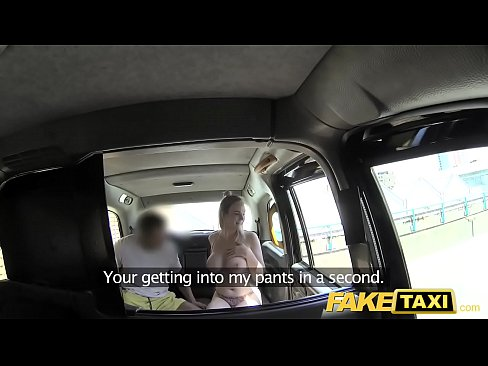 Fake Taxi Cabby tries his beginners luck on hot...