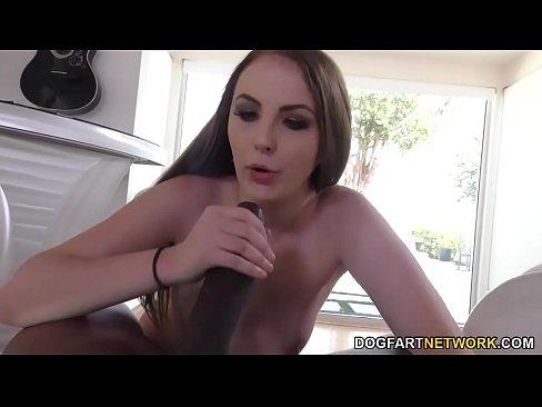 Jenna Marie Fucks Huge Black Cock POV Style