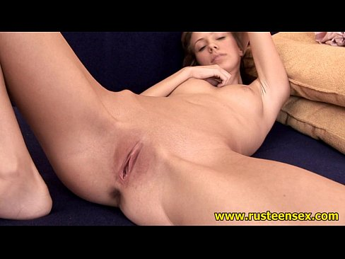 Shaved Russian Teen Pussy
