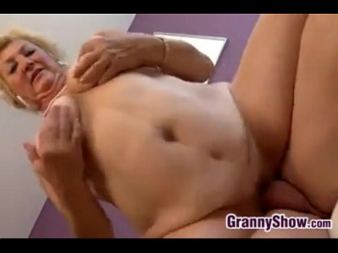 Thick And Horny Granny Sucks And Fucks