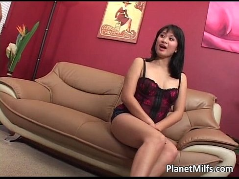 Extremely Horny Asian Mom Goes For A Cock Ride