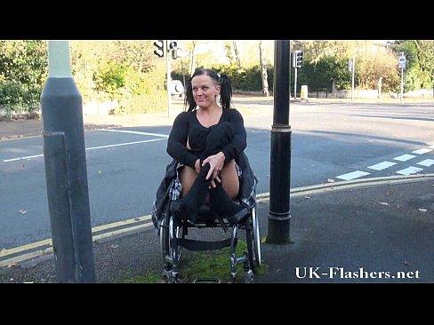 handicap girl