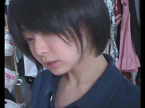 【ライブチャット】【個人撮影】JCに見える女の子のライブオナニー