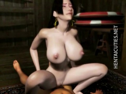 Horny 3D hentai girl gets pussy jizzed [変態アニメポルノ HentaiPornTube.net]