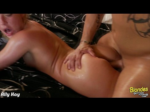XVIDEOS Blonde nymph Ally Kay fuck a big cock free