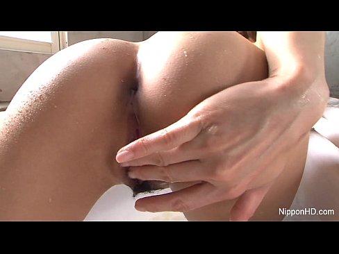 Teen anal dildo massive