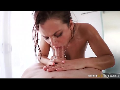 Brazzers - (Keisha Grey) gets oiled up and ready to go