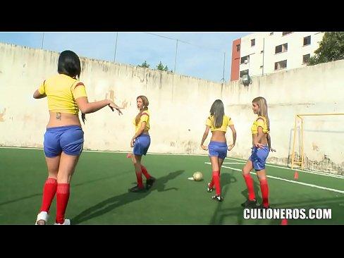 El mejor equipo de futbol colombiano Culioneros Culioneros Nalgas Grandes Women Soccer Players