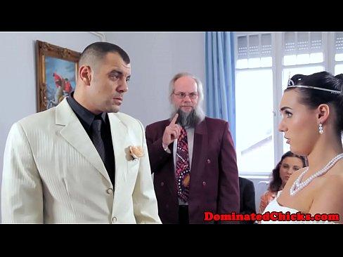 Sub bride punished at the wedding