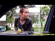 Tesudinha metendo no carro