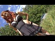 Ruivinha grávida sentando na piroca
