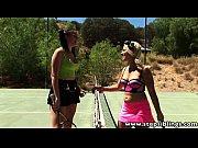 Jogadoras de tênis transando gostoso