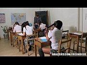 Estudante peituda dando a xota