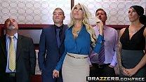Brazzers - Big Tits at Work - Bridgette B Xander Corvus - Stuck In The Elevator - Download mp4 XXX porn videos