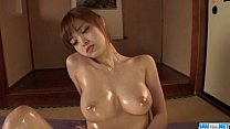 ดาราสาวหน้าใส mikuru shiina นวดน้ำมันแล้วตกเบ็ดโชว์