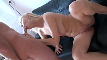 blonde  gets what she wanted at home