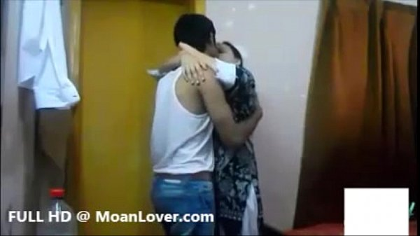 Attractive Punjabi Couple Hardcore Kissing