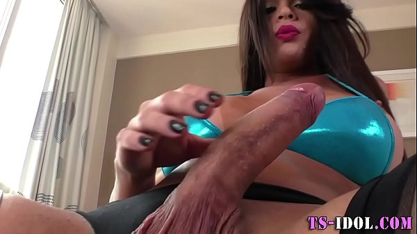 Juggs transsexual cumshot