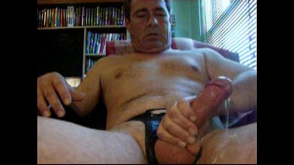 senior men masturbating
