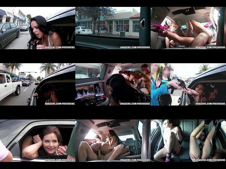 Γαμήσι στο πίσω κάθισμα ενώ το αμάξι κινείται (7 min)