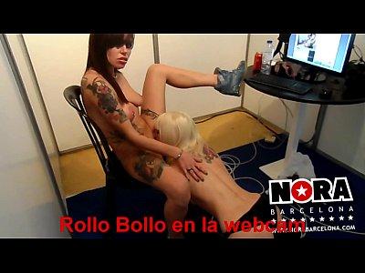 Rollo bollo en la webcam