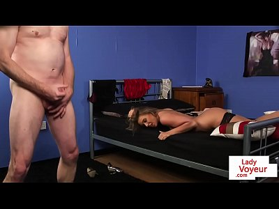 Tetona británico voyeur indica con dirtytalk