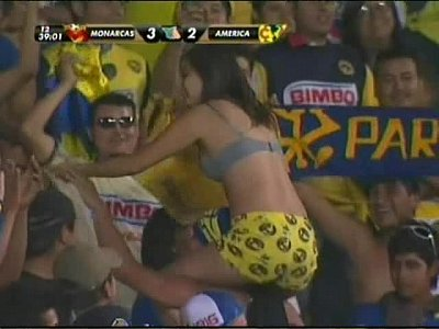Mexicana fanatica del américa