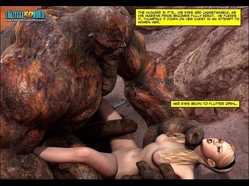 3D Comic: Blade Maidens. Episode 6