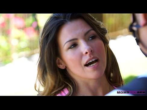Hot lesbian threesome with my step mom