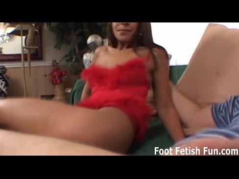 Worship My Feet And I'll Make You Cum
